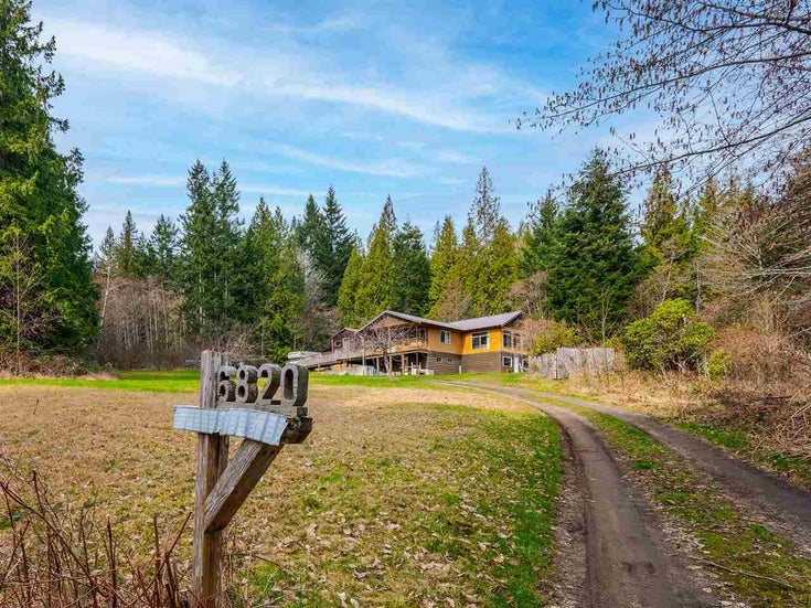 6820 NORWEST BAY ROAD - Sechelt District House with Acreage for sale, 2 Bedrooms (R2553107)