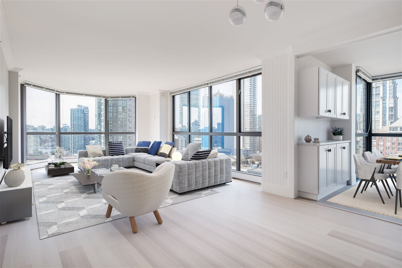 1605 212 DAVIE STREET - Yaletown Apartment/Condo for sale, 2 Bedrooms (R2553352) - #1