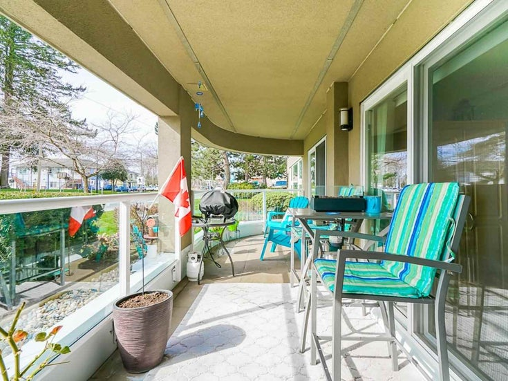 107 15809 MARINE DRIVE - White Rock Apartment/Condo for sale, 2 Bedrooms (R2553511)