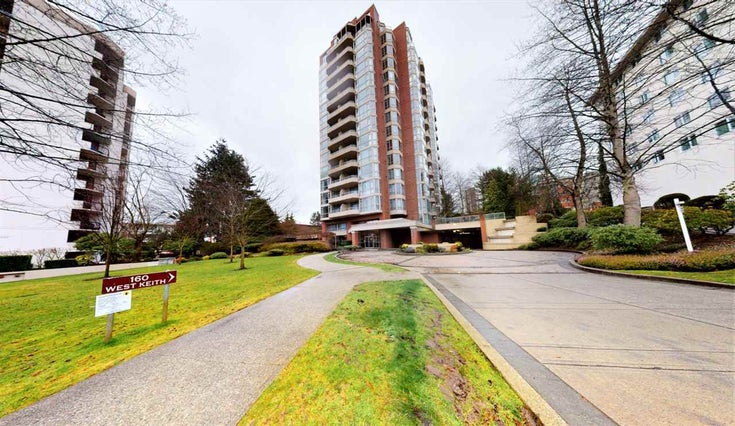 901 160 W KEITH ROAD - Central Lonsdale Apartment/Condo for sale, 2 Bedrooms (R2553540)