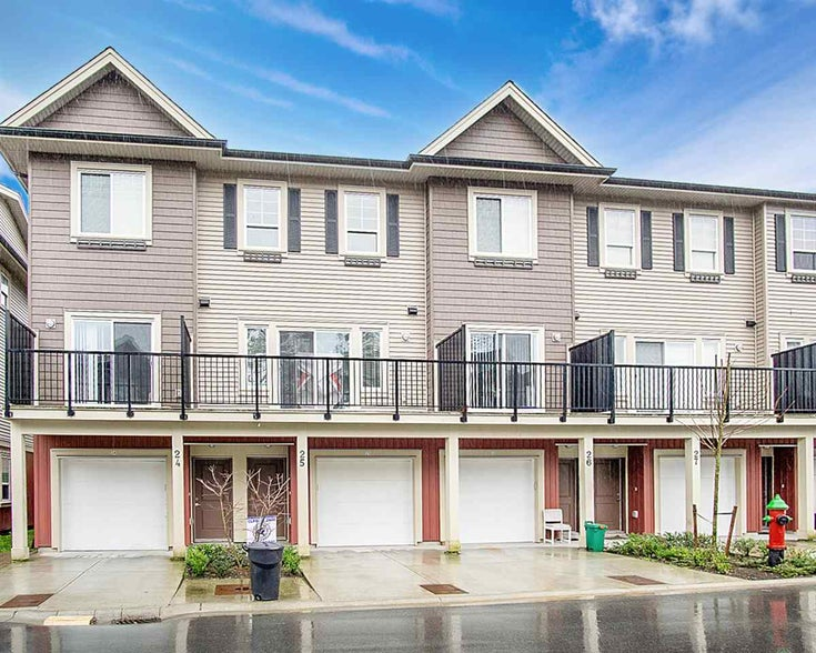 25 2530 JANZEN STREET - Abbotsford West Townhouse for sale, 3 Bedrooms (R2554015)