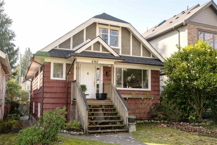 6367 YEW STREET - Kerrisdale House/Single Family for sale, 3 Bedrooms (R2554348)