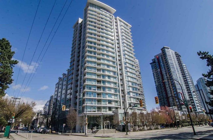 1503 161 W GEORGIA STREET - Downtown VW Apartment/Condo for sale, 1 Bedroom (R2555512)