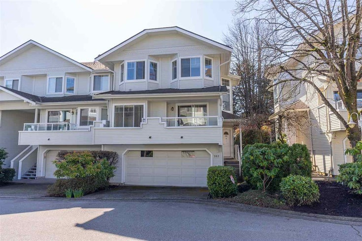 263 WATERLEIGH DRIVE - Marpole Townhouse for sale, 3 Bedrooms (R2555717)