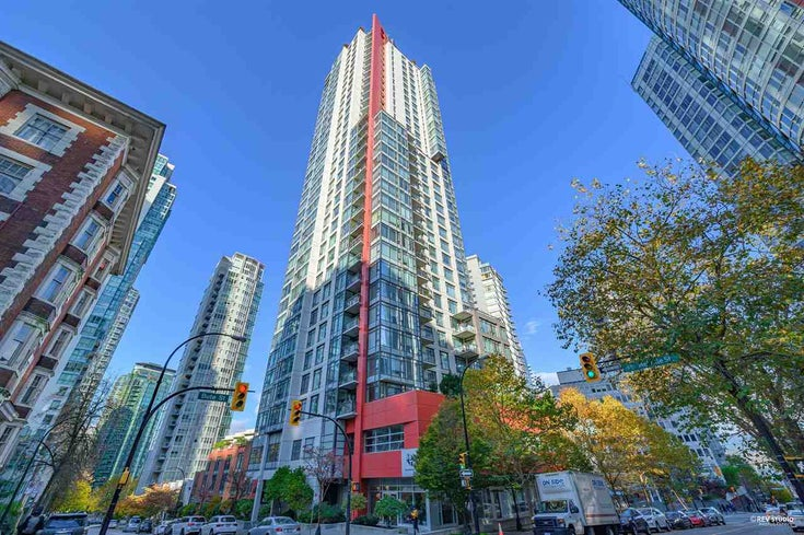 2201 1211 MELVILLE STREET - Coal Harbour Apartment/Condo for sale, 2 Bedrooms (R2555885)