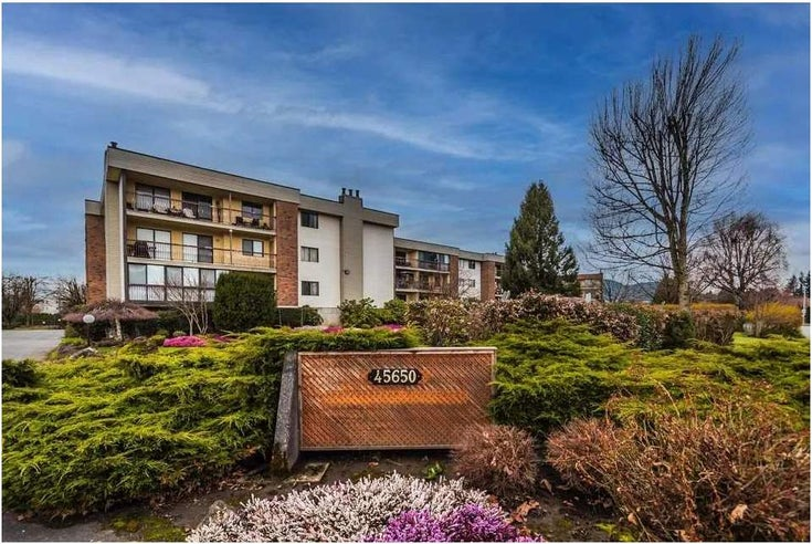 1101 45650 MCINTOSH DRIVE - Chilliwack W Young-Well Apartment/Condo for sale, 1 Bedroom (R2555940)