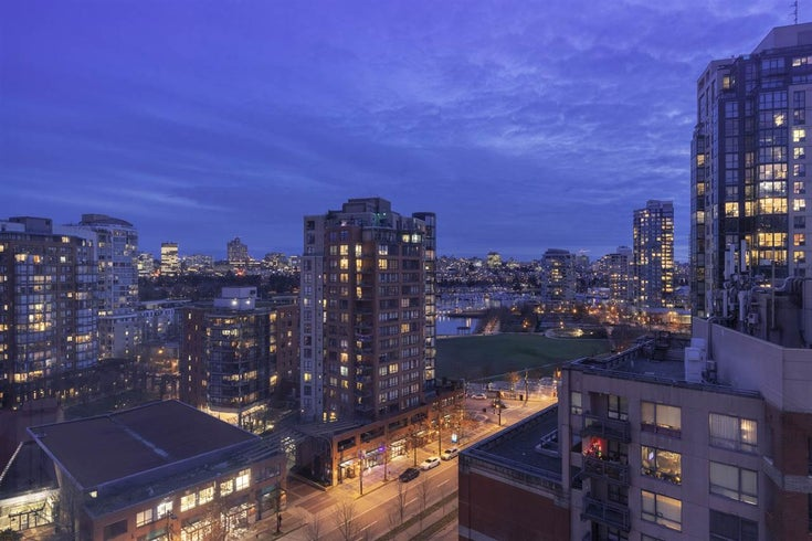 1305 212 DAVIE STREET - Yaletown Apartment/Condo for sale, 3 Bedrooms (R2556325)
