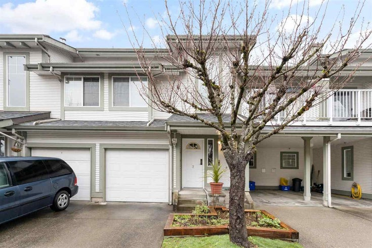 7 8892 208 STREET - Walnut Grove Townhouse for sale, 2 Bedrooms (R2556433)