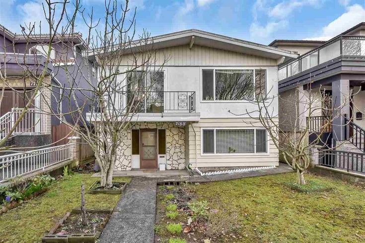 7188 CULLODEN STREET - South Vancouver House/Single Family for sale, 5 Bedrooms (R2556672)