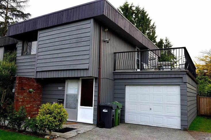 9551 NO. 4 ROAD - Saunders 1/2 Duplex for sale, 3 Bedrooms (R2556970)