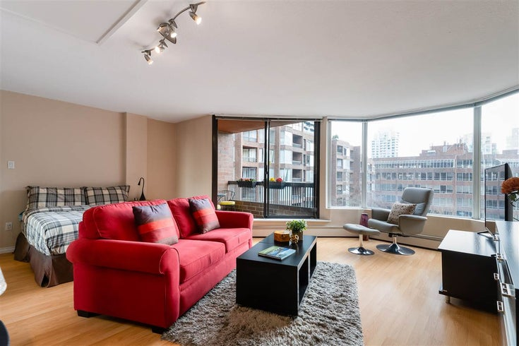 513 950 DRAKE STREET - Downtown VW Apartment/Condo for sale, 1 Bedroom (R2557103)
