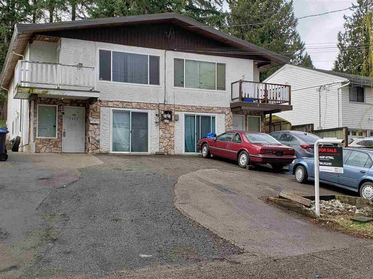 1522-1524 PITT RIVER ROAD - Mary Hill Fourplex for sale, 11 Bedrooms (R2557771)