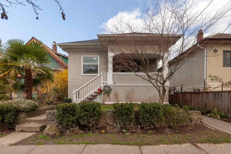 1563 GRANT STREET - Grandview Woodland House/Single Family for sale, 3 Bedrooms (R2557904)