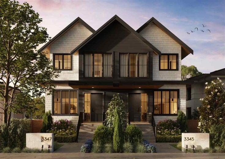 3347 W 11TH AVENUE - Kitsilano 1/2 Duplex for sale, 4 Bedrooms (R2557946)