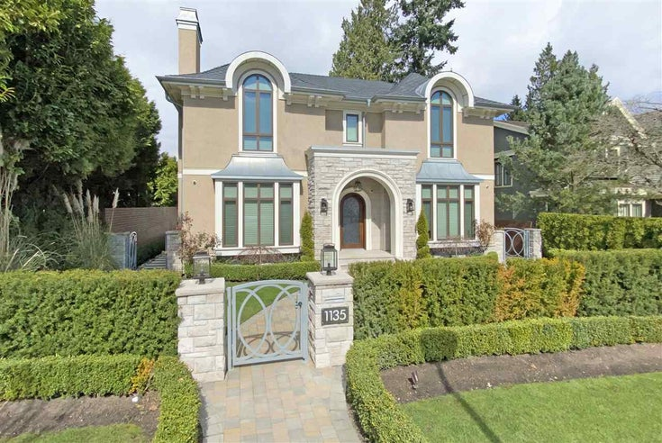 1135 W 39TH AVENUE - Shaughnessy House/Single Family for sale, 6 Bedrooms (R2557958)