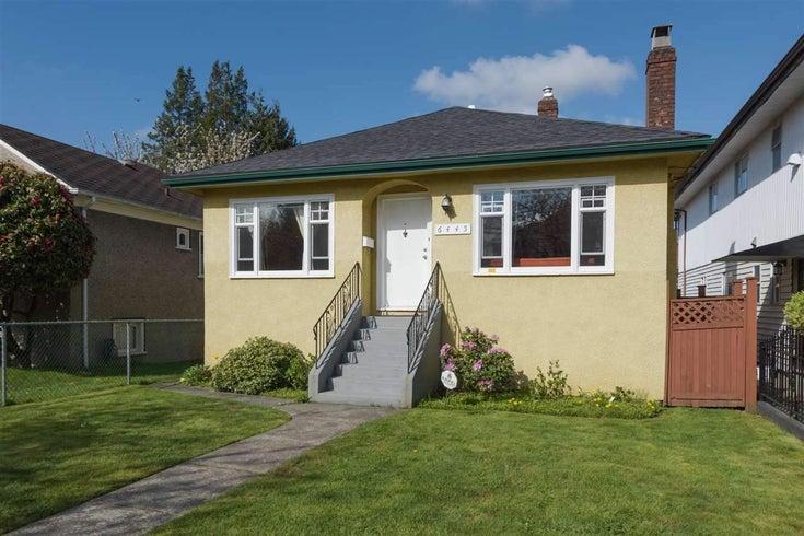 6445 ONTARIO STREET - Oakridge VW House/Single Family for sale, 3 Bedrooms (R2558081)