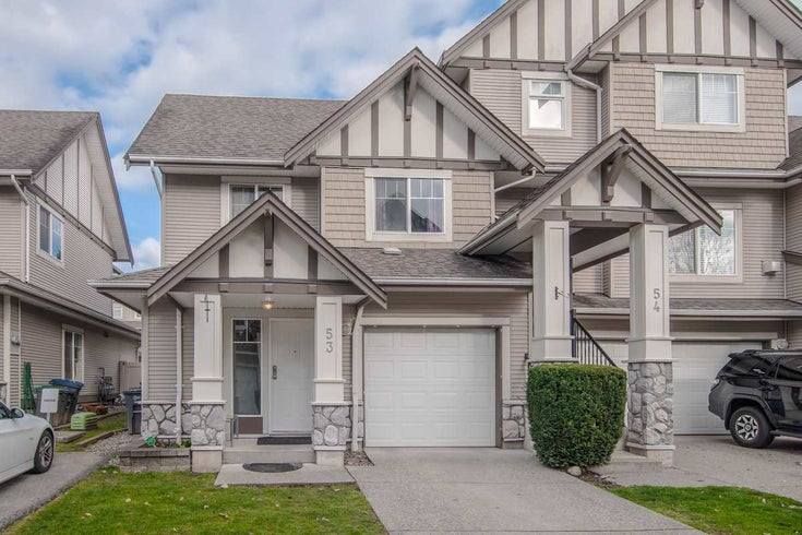 53 18181 68 AVENUE - Cloverdale BC Townhouse for sale, 3 Bedrooms (R2558107)