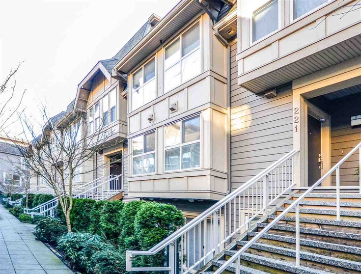 221 2110 ROWLAND STREET - Central Pt Coquitlam Townhouse for sale, 3 Bedrooms (R2558260)