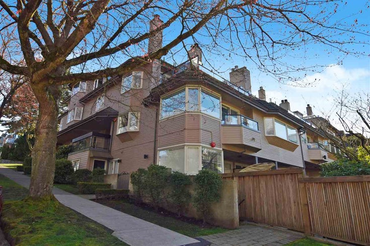 H 1659 BALSAM STREET - Kitsilano Townhouse for sale, 2 Bedrooms (R2559325)