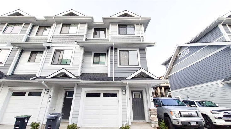 23 189 WOOD STREET - Queensborough Townhouse for sale, 3 Bedrooms (R2559576)