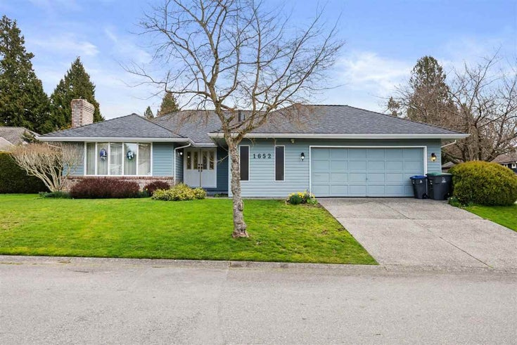1652 141A STREET - Sunnyside Park Surrey House/Single Family for sale, 2 Bedrooms (R2559721)