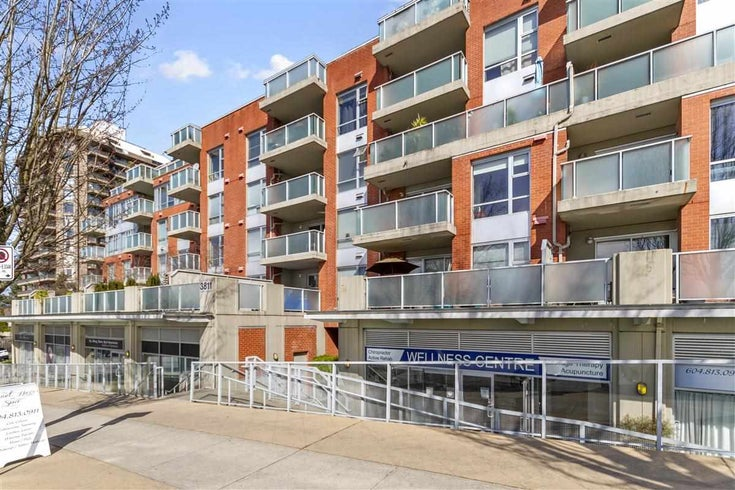 413 3811 HASTINGS STREET - Vancouver Heights Apartment/Condo for sale, 1 Bedroom (R2559851)