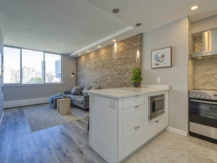 905 1250 BURNABY STREET - West End VW Apartment/Condo for sale, 1 Bedroom (R2559858)