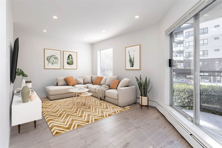 106 1550 CHESTERFIELD AVENUE - Central Lonsdale Apartment/Condo for sale, 2 Bedrooms (R2560011)