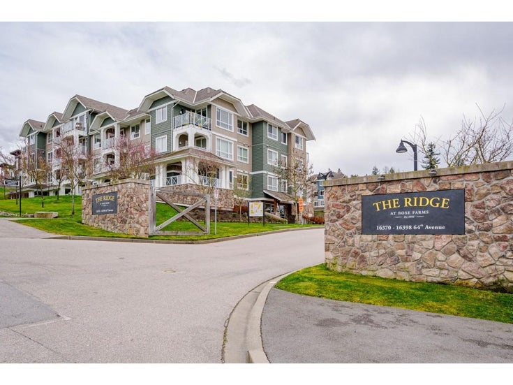 210 16398 64 AVENUE - Cloverdale BC Apartment/Condo for sale, 1 Bedroom (R2560032)