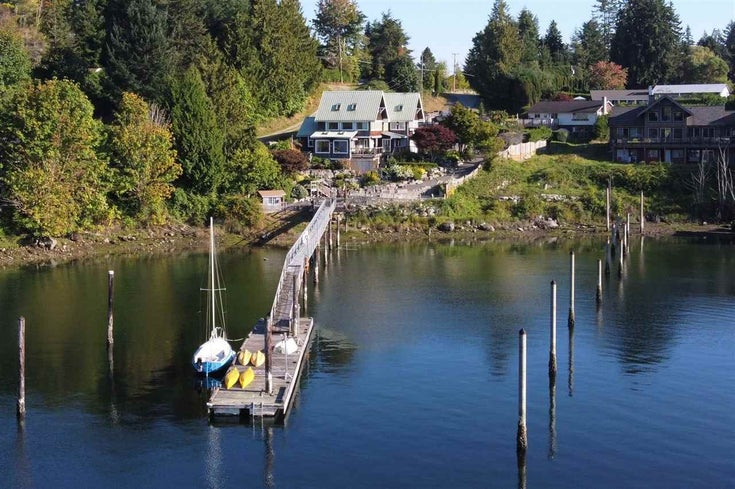 4675 FRANCIS PENINSULA ROAD - Pender Harbour Egmont House/Single Family for sale, 4 Bedrooms (R2560142)