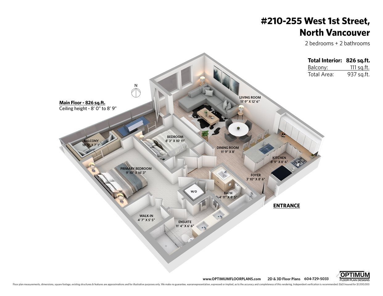 210 255 W 1ST STREET - Lower Lonsdale Apartment/Condo for sale, 2 Bedrooms (R2560326) - #27