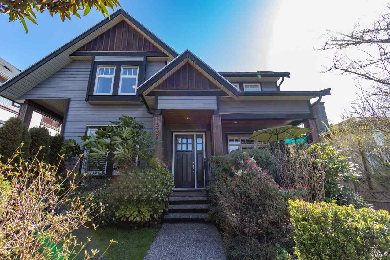 1532 BEWICKE AVENUE - Central Lonsdale 1/2 Duplex for sale, 6 Bedrooms (R2560346) - #1