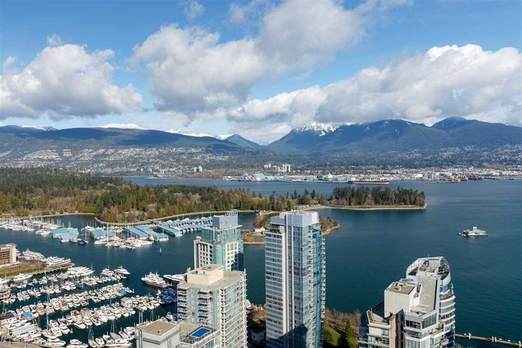 906 1189 MELVILLE STREET - Coal Harbour Apartment/Condo for sale, 1 Bedroom (R2560831)