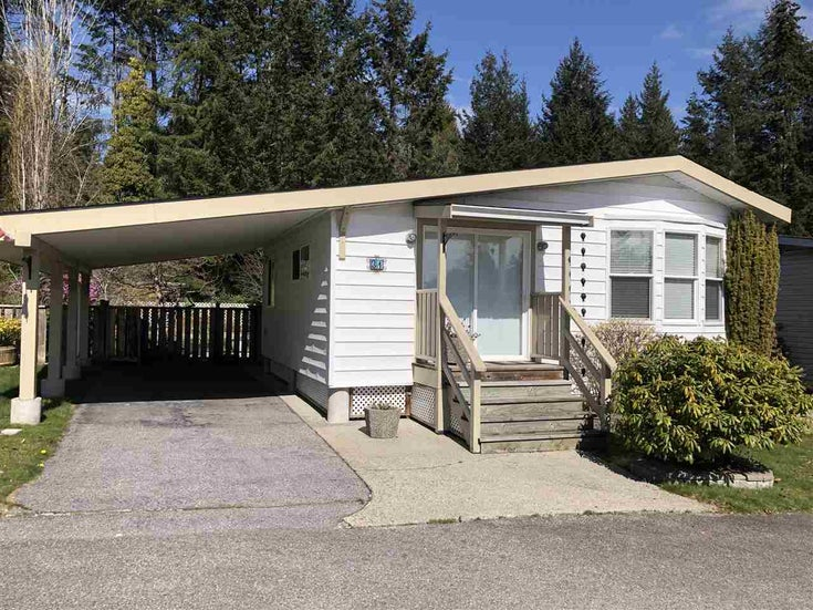 31 4116 BROWNING ROAD - Sechelt District Manufactured for sale, 2 Bedrooms (R2560882)