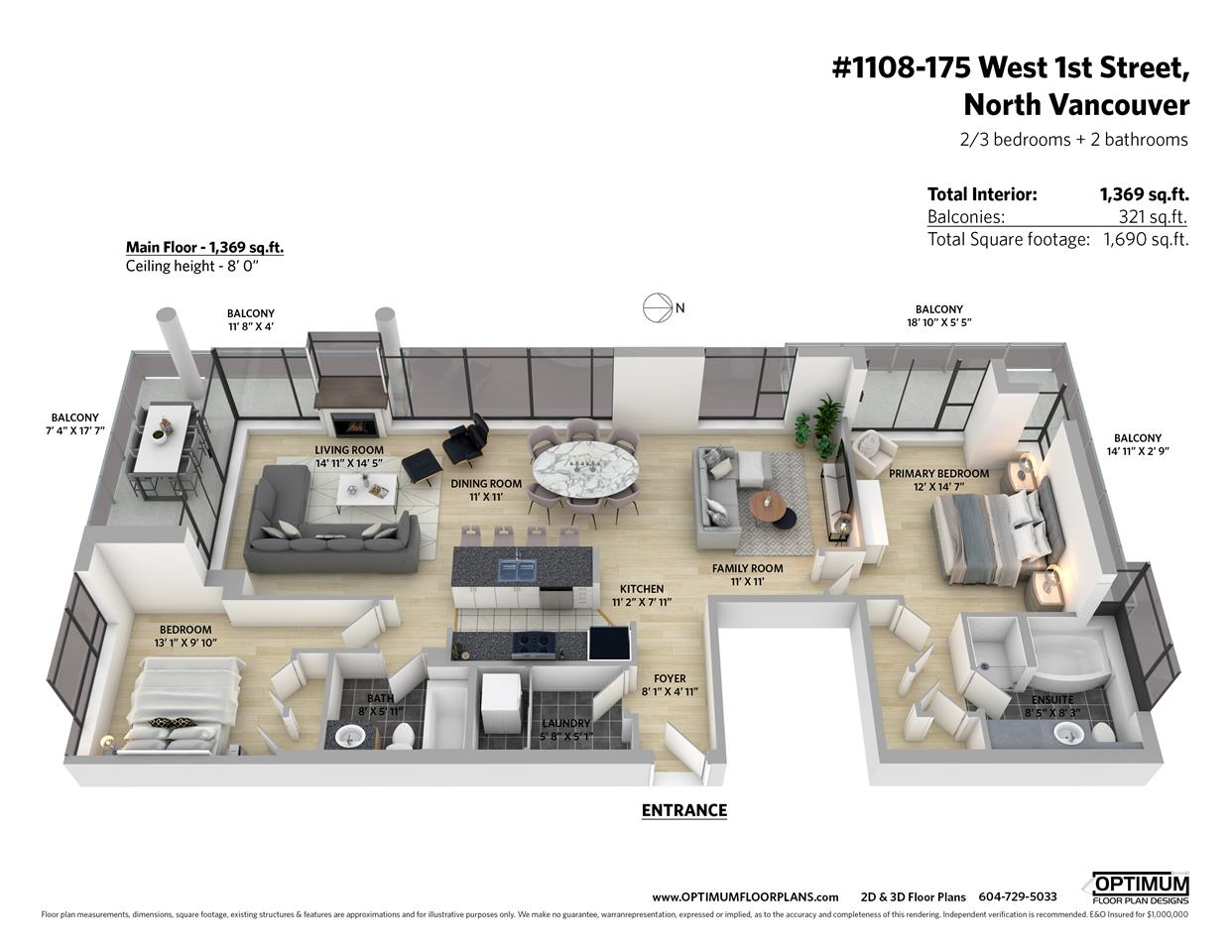 1108 175 W 1ST STREET - Lower Lonsdale Apartment/Condo for sale, 2 Bedrooms (R2560932) - #26