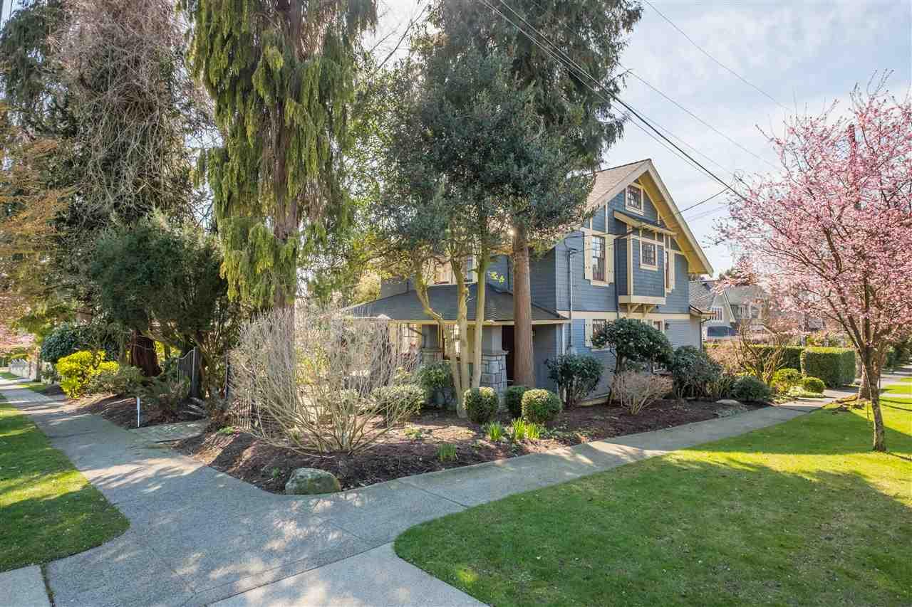5825 CARNARVON STREET - Kerrisdale House/Single Family for sale, 5 Bedrooms (R2560957)