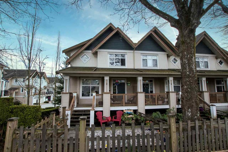 3 20120 68 AVENUE - Willoughby Heights Townhouse for sale, 3 Bedrooms (R2561003)