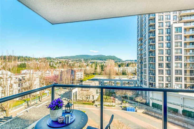 708 1185 THE HIGH STREET - North Coquitlam Apartment/Condo for sale, 1 Bedroom (R2561101)