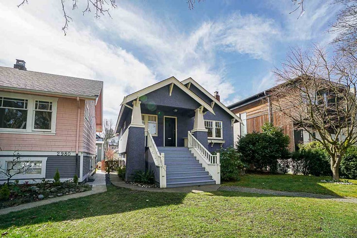 2986 W 11TH AVENUE - Kitsilano House/Single Family for sale, 4 Bedrooms (R2561120)