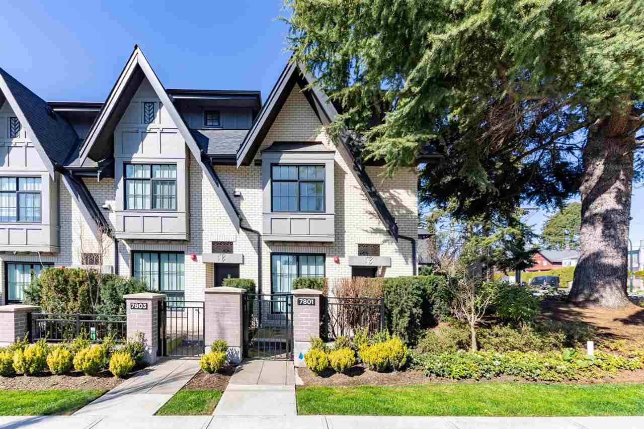 7801 OAK STREET - Marpole Townhouse for sale, 3 Bedrooms (R2561289)