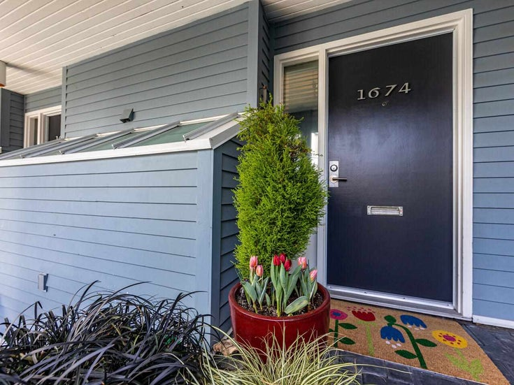 1674 ARBUTUS STREET - Kitsilano Townhouse for sale, 2 Bedrooms (R2561294)
