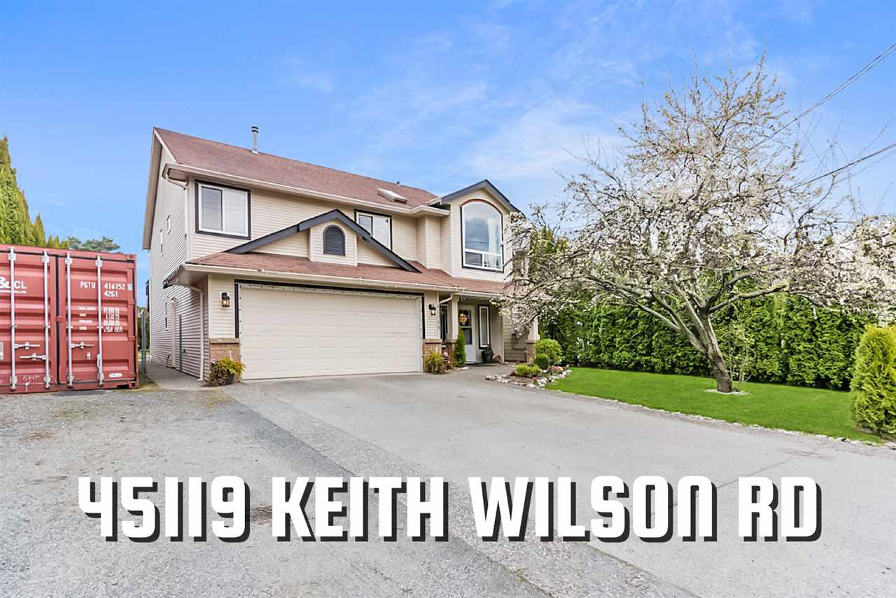 45119 KEITH WILSON ROAD - Vedder S Watson-Promontory House/Single Family for sale, 4 Bedrooms (R2561301) - #1