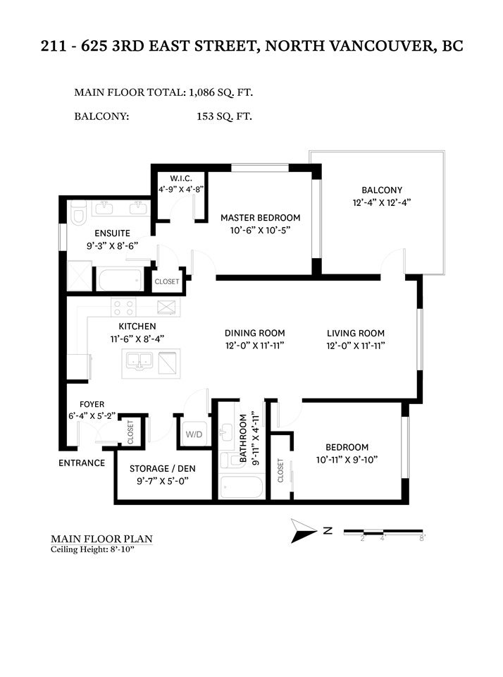 211 625 E 3RD STREET - Lower Lonsdale Apartment/Condo for sale, 2 Bedrooms (R2561591) - #22