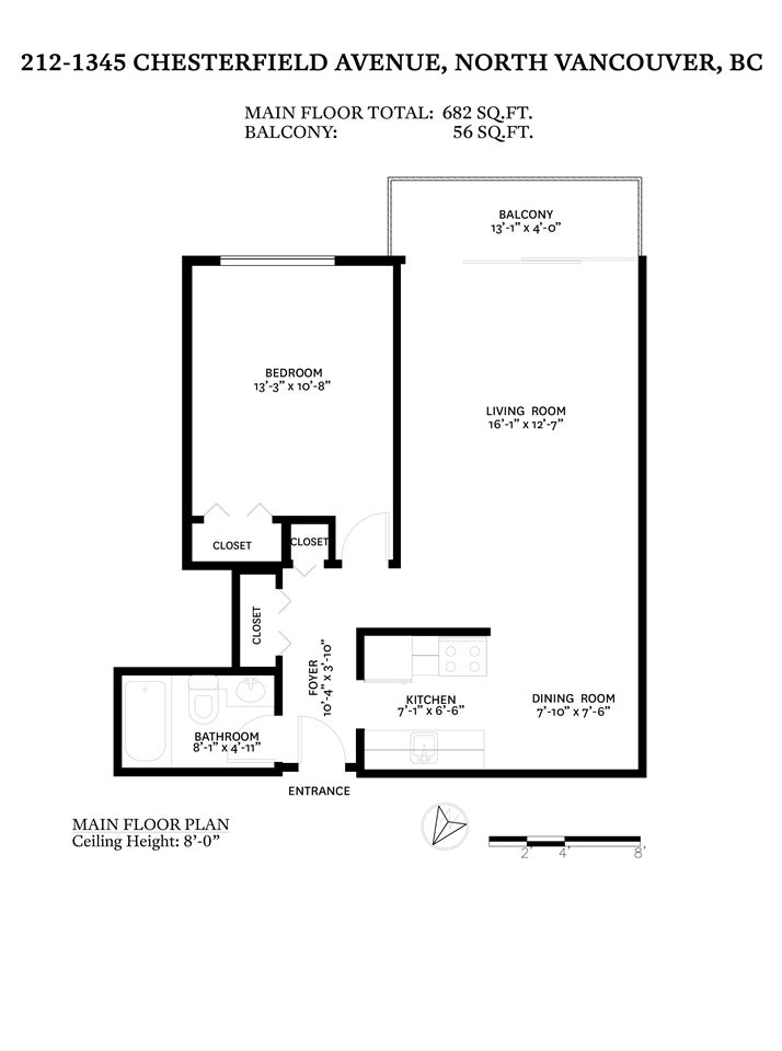 212 1345 CHESTERFIELD AVENUE - Central Lonsdale Apartment/Condo for sale, 1 Bedroom (R2561595) - #25