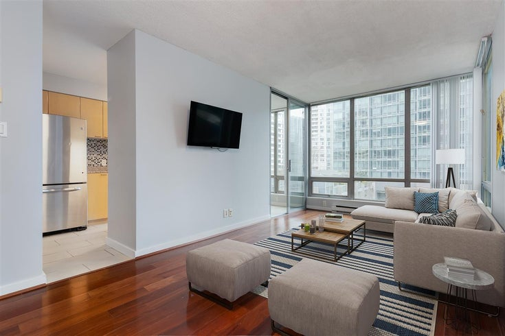 602 1200 W GEORGIA STREET - West End VW Apartment/Condo for sale, 1 Bedroom (R2561597)