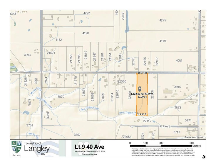 LOT 9 40 AVENUE - Brookswood Langley for sale(R2561661)