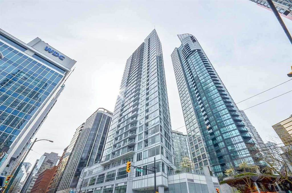 2502 1188 W PENDER STREET - Coal Harbour Apartment/Condo for sale, 1 Bedroom (R2561914)