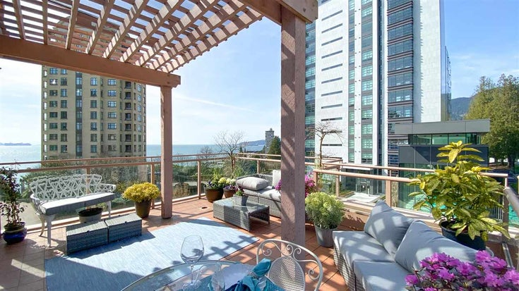 506 2271 BELLEVUE AVENUE - Dundarave Apartment/Condo for sale, 1 Bedroom (R2562061)