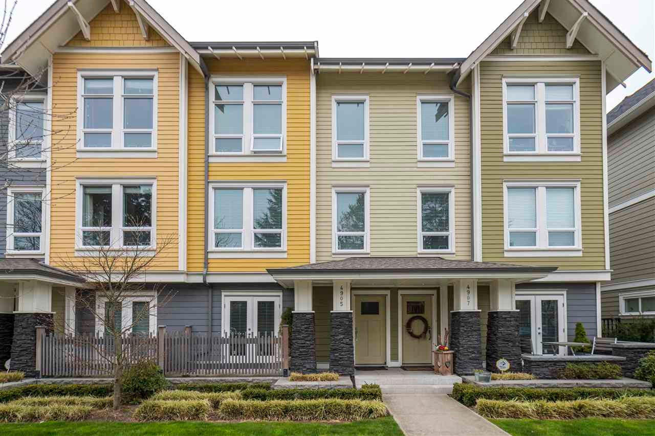 4905 47A AVENUE - Ladner Elementary Townhouse for sale, 3 Bedrooms (R2562082)