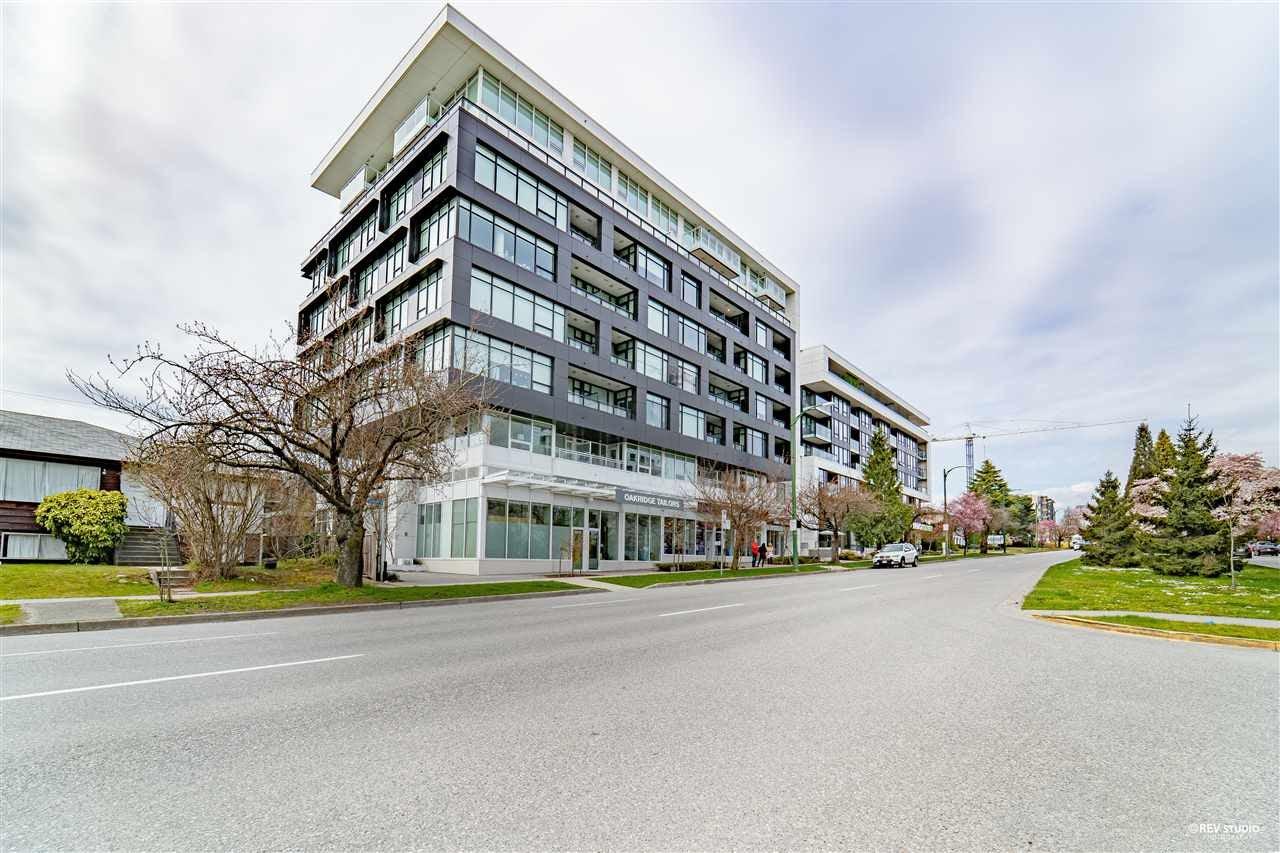 705 6383 CAMBIE STREET - Oakridge VW Apartment/Condo for sale, 1 Bedroom (R2562105)